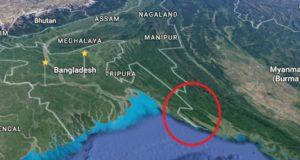 Bangladesh-Myanmar-border-area