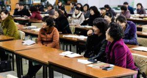 A Choson Exchange workshop résztvevői, fotó: CNBC
