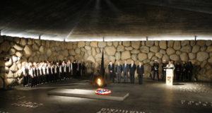 George Bush látogatása a Jad Vashem Holocaust Emlékközpontban