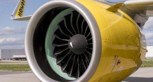 Pratt & Whitney hajtőművel szerelt A320neo típus - kép forrása: Airbus newsroom